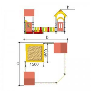 Песочный дворик Romana 109.05.00