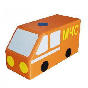 Контурная игрушка «Машина МЧС»