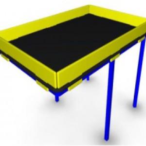Стол-песочница для малой мобильной группы населения ММГН-04