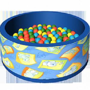 Сухой бассейн с шариками «Дюна» ДМФ-МК-02.51.00