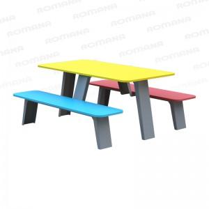 Столик со скамьями детский Romana 302.35.00