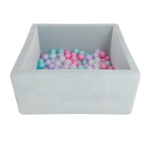 Romana Airpool BOX (серый) (розовые шарики)