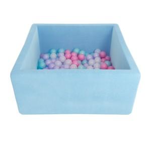 Romana Airpool BOX (голубой) (розовые шарики)