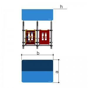 Домик со счетами Romana 111.01.00