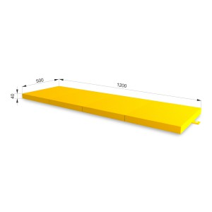 РОМАНА Fitness коврик (желтый)