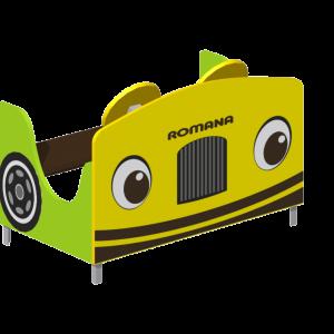 Поезд (1 секция) с рисунком на передней панели Romana 111.27.00