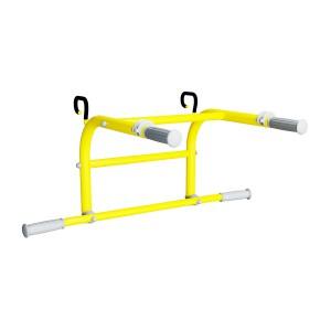 ROMANA Dop1 Турник-брусья 2 в 1 (желтый)