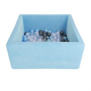 Romana Airpool BOX (голубой) (серые шарики)