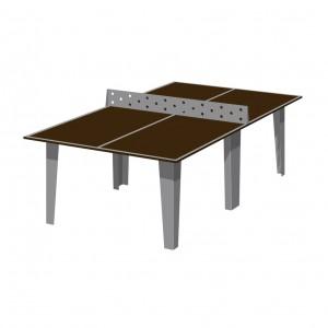 Стол теннисный (встроенная металлическая сетка)