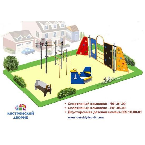 Проект детской площадки старшей возрастной группы