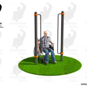 Поручи для подъема на инвалидное кресло СВС-116