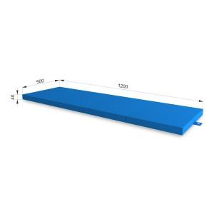 РОМАНА Fitness коврик (синий)