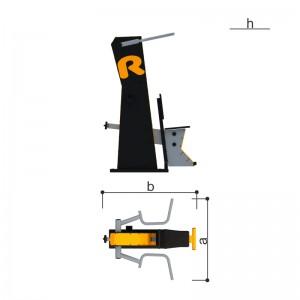 Тренажер «Верхняя тяга» Romana 207.35.10