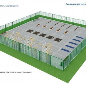 Площадка для тестирования сдачи норм ГТО