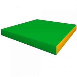 Элемент мягкой формы 1000x1000x100 (плотность 18 кг/м3)
