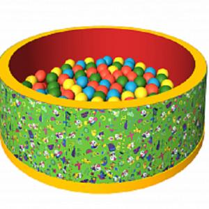 Сухой бассейн с шариками «Веселая поляна» ДМФ-МК-02.51.01