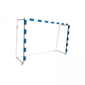 Ворота гандбольные/мини футбольные стальные пристенные складные