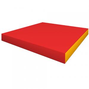 Элемент мягкой формы 1000x1000x100 (плотность 22 кг/м3)