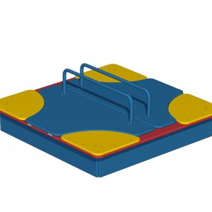 Песочница с откидной крышкой