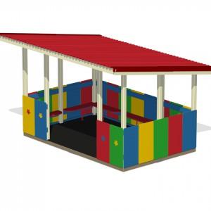Веранда для детских садов