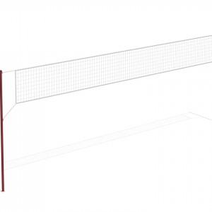 Волейбольная стойка без сетки